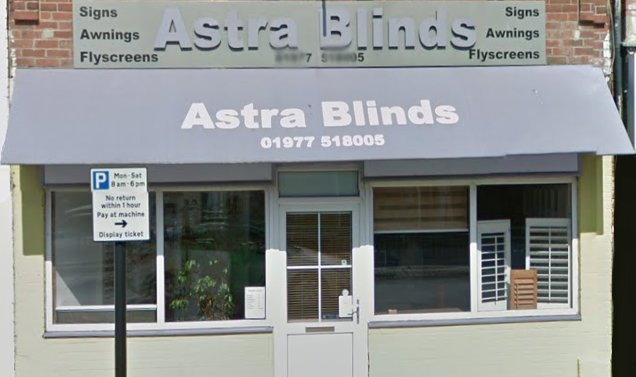 Astra Blinds Castleford
