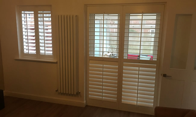 Made to measure shutter blinds