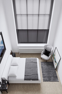 Aluminium with Orion metal venetian blinds